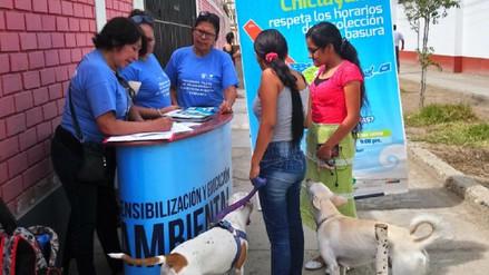Sensibilizan a población a pagar arbitrios para mantener limpio Chiclayo