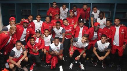 La intimidad del festejo de la Selección Peruana en el vestuario