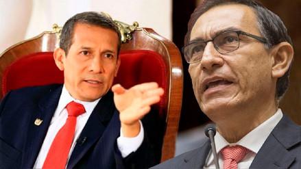 Humala advierte a Vizcarra: