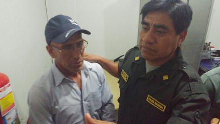 Dirigente acusado de disturbios en Olmos permanece detenido en Chiclayo