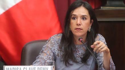 """Marisa Glave sobre Vizcarra: """"El mensaje que le dio al Congreso es el de no avasallar al Ejecutivo"""""""