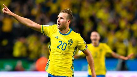 Video | Chile celebraba su gol y al minuto Suecia lo empató con un tanto a puro toque