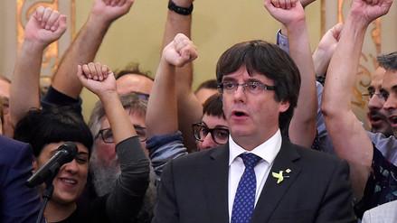 La policía de Alemania detuvo al expresidente catalán Puigdemont