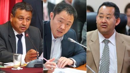 Procurador Enco pidió a la Fiscalía investigar a congresistas Fujimori, Ramírez y Bocángel