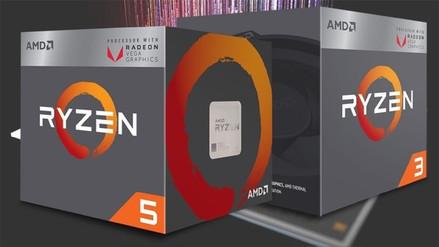 Review | Vega Radeon en los procesadores 3 2200G y 5 2400G