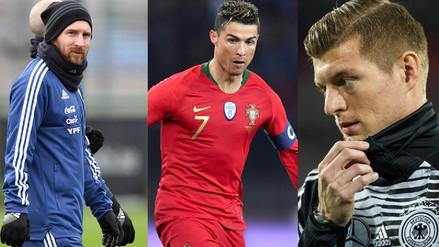 El once ideal del 2018 según el Observatorio Internacional de Fútbol