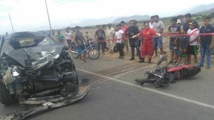 Accidente deja un muerto en la carretera Panamericana Norte en Pacasmayo