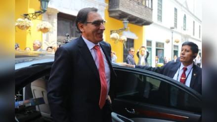 Gobernador pide dejar trabajar a presidente Martín Vizcarra