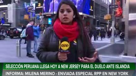RPP llegó al Times Square de Nueva York previó al duelo Perú vs. Islandia