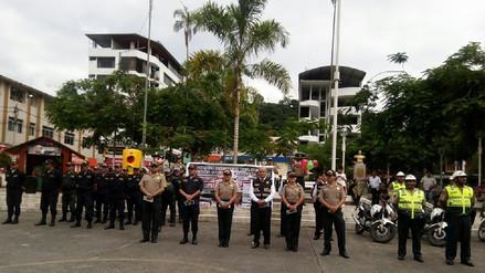 Garantizan la seguridad en Chanchamayo durante la Semana Santa