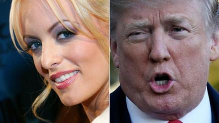 La actriz del cine para adultos Stormy Daniels acusó al abogado de Trump de difamación