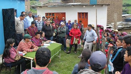 Instalan radio educativa en el caserío de Lanchipampa en Incahuasi