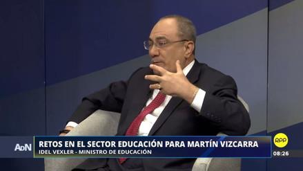 """Vexler no cree que los maestros se plieguen a la huelga convocada por dirigentes """"no reconocidos"""""""