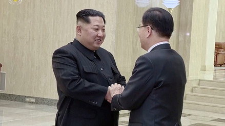 Kim Jong-un afirmó estar a favor de la desnuclearización de la península de Corea