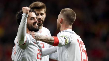 España apabulló por 6-1 a Argentina que no tenía a Lionel Messi