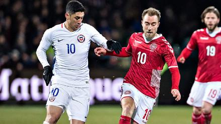Dinamarca no pudo con Chile y quedaron igualados sin goles