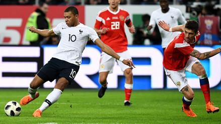 Golazo de Mbappé con Francia: rompió a defensa y anotó de huacha
