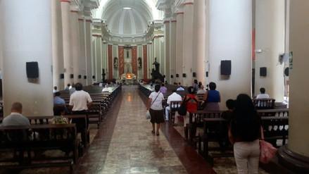 Iglesias de Chiclayo cumplen con medidas de seguridad por Semana Santa