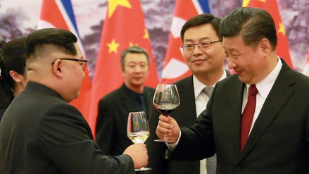 Seúl destacó que el viaje de Kim Jong-un a China contribuye a la desnuclearización