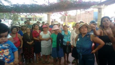 Pobladores de Nuevo Mocupe protestan por falta de agua