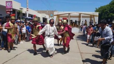 Ciento cincuenta niños y adultos escenificarán la muerte de Jesús en Reque