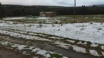 Granizada afectó medio centenar de viviendas y cultivos del distrito de Catac