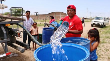 Solo el 16 % de población rural de Lambayeque cuenta con agua segura