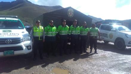 La Oroya: instalan carpas de auxilio por Semana Santa