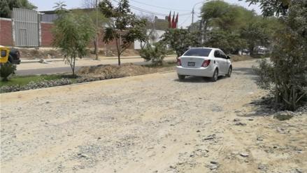 Pobladores del distrito de Castilla pidieron la rehabilitación de vías