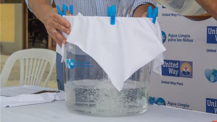 Uno de cada tres peruanos no tienen acceso a agua potable