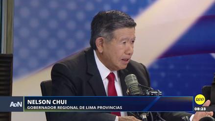 "Nelson Chui plantea otorgar una ""tregua"" de seis meses a Vizcarra"
