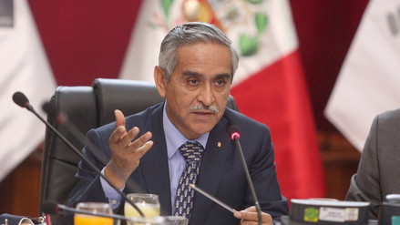 Titular del Poder Judicial descarta que cambio de presidente demore la extradición a Toledo