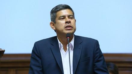 Galarreta consideró mezquinas las críticas contra César Villanueva por su rol en la vacancia