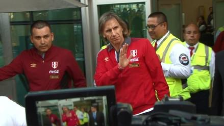 Selección Peruana llegó a Lima y Ricardo Gareca recibió el cariño de la gente