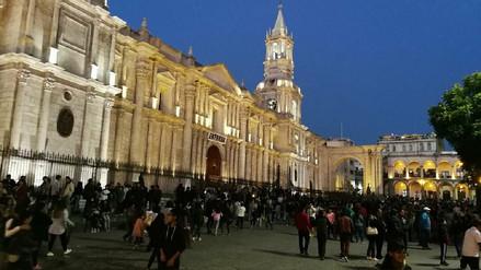 Se inició tradicional recorrido de las estaciones en Arequipa