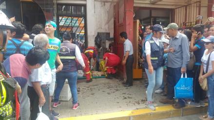 Trabajador cayó desde el tercer piso de un hotel en Chiclayo