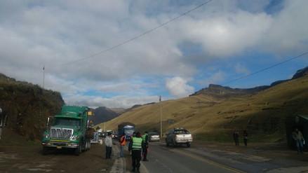 La Oroya: congestión vehicular por Semana Santa retrasa llegada turistas