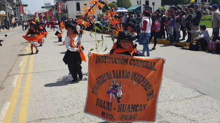 Huancayo: Público participó de pasacalle por Semana Santa