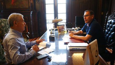 Martín Vizcarra se reunió con César Villanueva, el futuro titular de la PCM