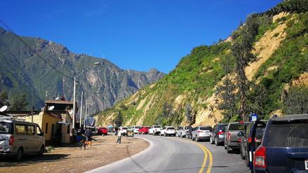Carretera Central: pase restringido en San Mateo por accidente vehicular