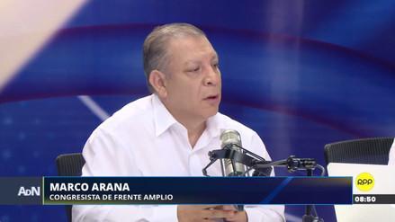 """Marco Arana: """"Nosotros vamos a seguir siendo oposición"""""""