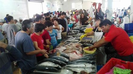 Incrementó en un 100% la afluencia público en terminal pesquero de Chimbote