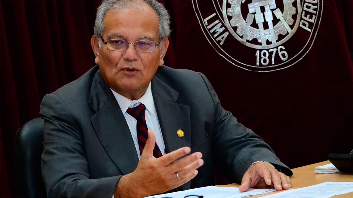 Rector de la UNI descartó integrar el Gabinete Villanueva