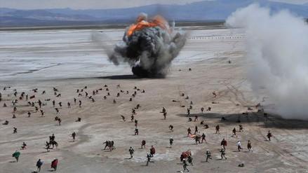 Bolivia recreó una victoria de la guerra ante Chile como apoyo a su demanda marítima