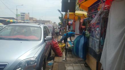 Municipio de Chiclayo no consideró en reordenamiento a ambulantes de Balta