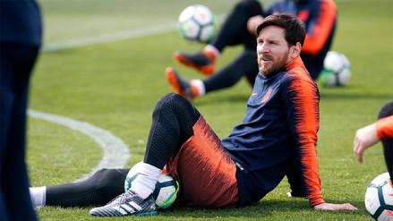 Sigue en duda la reaparición de Lionel Messi: