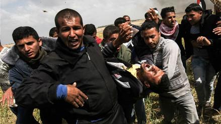 Quince palestinos muertos y más de mil heridos en protestas en frontera entre Israel y Gaza