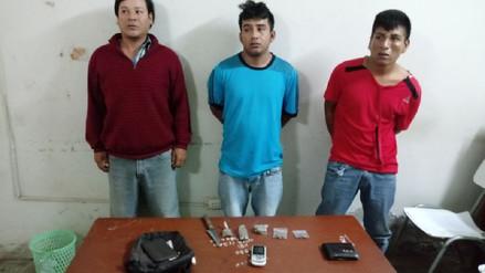 Detienen a ladrones que arrebataron 5 mil soles a comerciantes