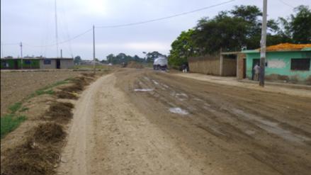 Gobierno Regional anula buena pro para ejecución de carretera Túcume - Mórrope
