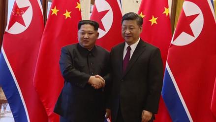 La TV norcoreana emitió imágenes inéditas del viaje de Kim Jong-un a China